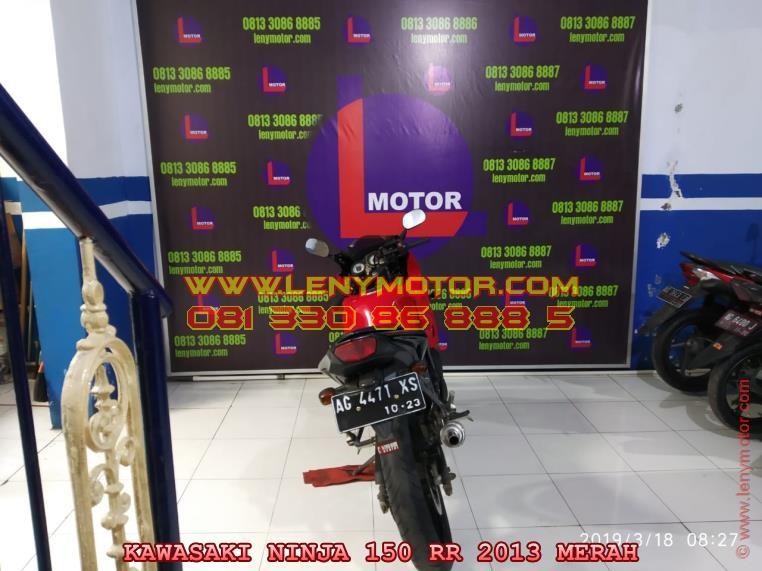 Jual Beli Motor Bekas Kawasaki Ninja 150 Rr 2013 Kediri Nganjuk
