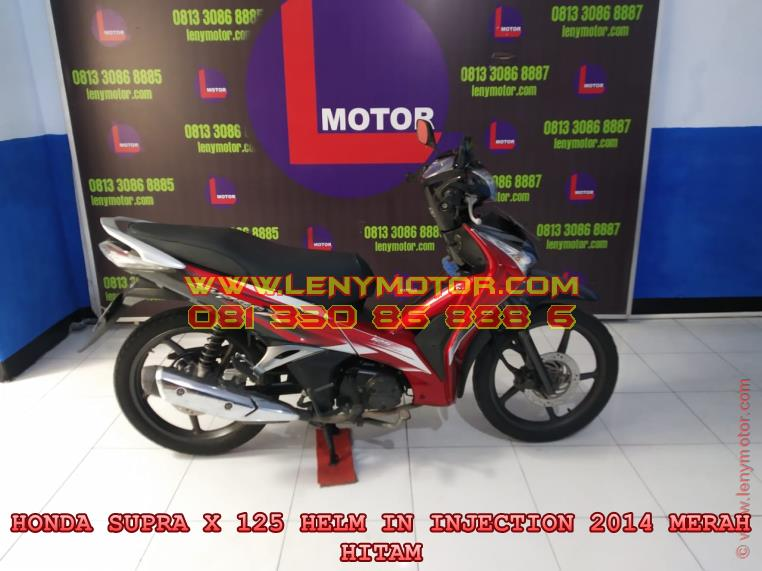 HONDA SUPRA X 125 HELM IN INJECTION 2014 KEDIRI | LENY MOTOR